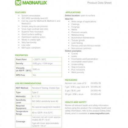 Magnaflux Spotcheck SKL-SP2 - 330g Aerosol